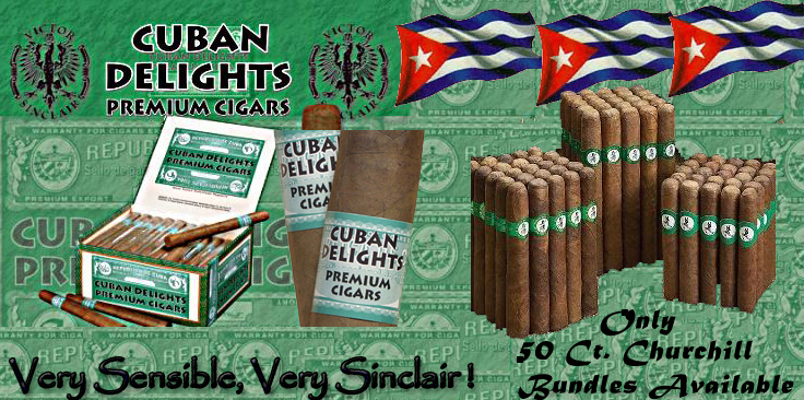 Cuban Delight...50 Ct. Churchill Bundles